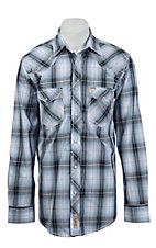 Rafter C Cowboy Collection Men's L/S Western Snap Shirt RC1531703