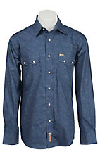Rafter C Cowboy Collection Men's L/S Western Snap Shirt RC1540201