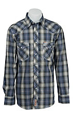 Rafter C Cowboy Collection Men's L/S Western Snap Shirt RC1541701