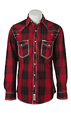 Rafter C Cowboy Collection Men's L/S Western Snap Shirt RC1541705