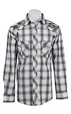 Rafter C Cowboy Collection Men's L/S Western Snap Shirt RC1541901
