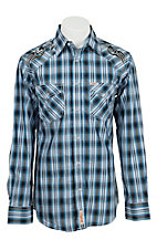 Rafter C Cowboy Collection Men's L/S Western Snap Shirt RC1541903