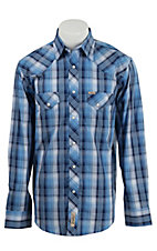 Rafter C Cowboy Collection Men's L/S Western Snap Shirt RC1610707