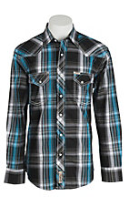 Rafter C Cowboy Collection Men's L/S Western Snap Shirt RC1610708