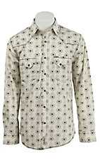 Rafter C Cowboy Collection Men's L/S Western Snap Shirt RC1611301