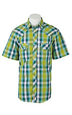 Rafter C Cowboy Collection Men's S/S Western Snap Shirt RC1611302