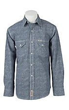 Rafter C Cowboy Collection Men's L/S Western Snap Shirt RC1611404