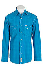 Rafter C Cowboy Collection Men's L/S Western Snap Shirt RC1611406