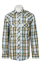 Rafter C Cowboy Collection Men's L/S Western Snap Shirt RC1611407