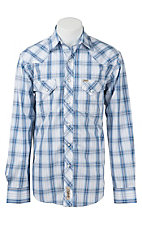 Rafter C Cowboy Collection Men's L/S Western Snap Shirt RC1611602