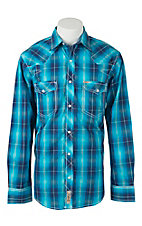 Rafter C Cowboy Collection Men's L/S Western Snap Shirt RC1611702