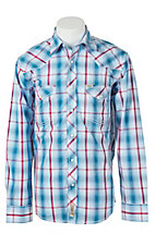 Rafter C Cowboy Collection Men's L/S Western Snap Shirt RC1611704