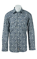Rafter C Cowboy Collection Men's L/S Western Snap Shirt RC1620706