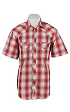 Rafter C Cowboy Collection Men's S/S Western Snap Shirt RC1621302