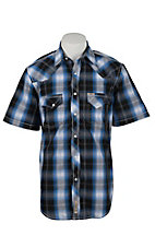 Rafter C Cowboy Collection Men's S/S Western Snap Shirt RC1621401