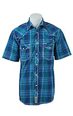 Rafter C Cowboy Collection Men's S/S Western Snap Shirt RC1621702