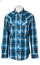 Rafter C Cowboy Collection Men's L/S Western Snap Shirt  RC1621704