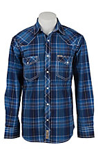 Rafter C Cowboy Collection Men's L/S Western Snap Shirt RC1621706