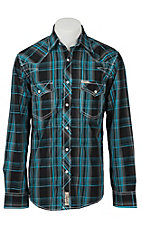 Rafter C Cowboy Collection Men's L/S Western Snap Shirt RC1621707