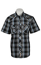 Rafter C Cowboy Collection Men's S/S Western Snap Shirt RC1621901