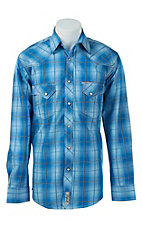 Rafter C Cowboy Collection Men's L/S Western Snap Shirt RC1622601