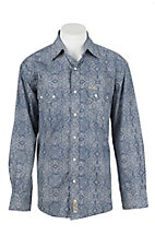 Rafter C Cowboy Collection Men's L/S Western Snap Shirt RC1630201