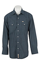 Rafter C Cowboy Collection Men's L/S Western Snap Shirt RC1630705