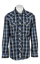 Rafter C Cowboy Collection Men's L/S Western Snap Shirt RC1631702