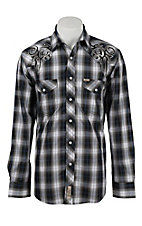 Rafter C Cowboy Collection Men's L/S Western Snap Shirt RC1632101