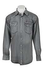 Rafter C Cowboy Collection Men's L/S Western Snap Shirt RC1632602