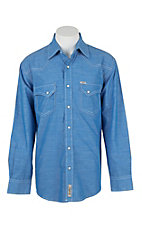 Rafter C Cowboy Collection Men's L/S Western Snap Shirt RC1632604
