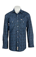 Rafter C Cowboy Collection Men's L/S Western Snap Shirt RC1640710