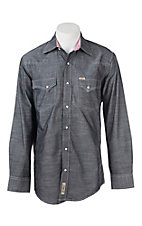 Rafter C Cowboy Collection Men's L/S Western Snap Shirt RC1640711