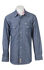 Rafter C Cowboy Collection Men's L/S Western Snap Shirt RC1640712