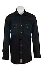 Rafter C Cowboy Collection Men's L/S Western Snap Shirt RC16407BLK