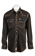 Rafter C Cowboy Collection Men's L/S Western Snap Shirt RC1640903