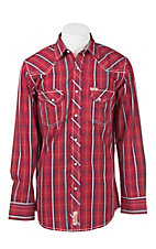 Rafter C Cowboy Collection Men's L/S Western Snap Shirt RC1641301