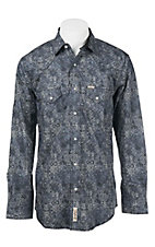Rafter C Cowboy Collection Men's L/S Western Snap Shirt RC1641302