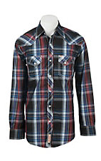 Rafter C Cowboy Collection Men's L/S Western Snap Shirt RC1641603