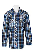 Rafter C Cowboy Collection Men's L/S Western Snap Shirt RC1641607