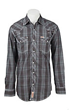 Rafter C Cowboy Collection Men's L/S Western Snap Shirt RC1641701