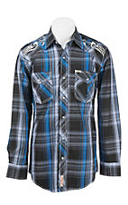 Rafter C Cowboy Collection Men's L/S Western Snap Shirt RC1641901