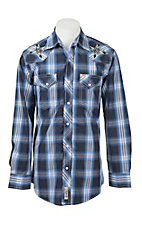 Rafter C Cowboy Collection Men's L/S Western Snap Shirt RC1642201