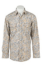 Rafter C Cowboy Collection Men's L/S Western Snap Shirt RC1642601