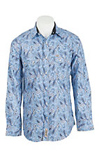 Rafter C Cowboy Collection Men's L/S Western Snap Shirt RC1710201