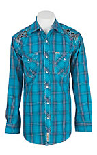 Rafter C Cowboy Collection Men's L/S Western Snap Shirt RC1711901
