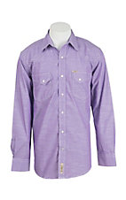 Rafter C Cowboy Collection Men's L/S Western Snap Shirt RC171SLD02