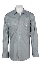 Rafter C ProFlex45 Men's Blue Mini Circle Print L/S Western Shirt