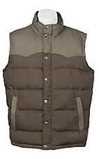 Rafter C Men's Two Tone Puff Vest