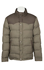 Rafter C Men's Two Tone Puff Jacket